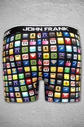 John Frank Siyah JFB33SIYAH Erkek Boxer