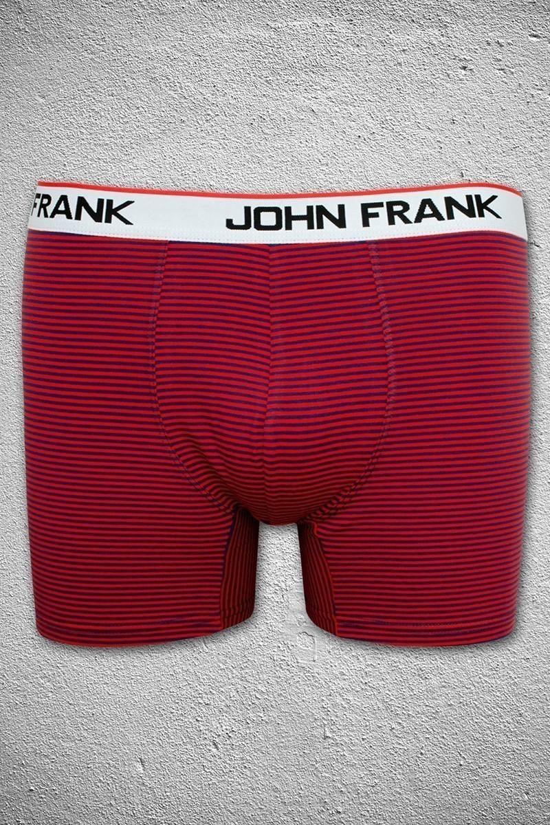 John Frank Kırmızı-Lacivert JFB38KIRMIZI-LACIVERT Erkek Boxer