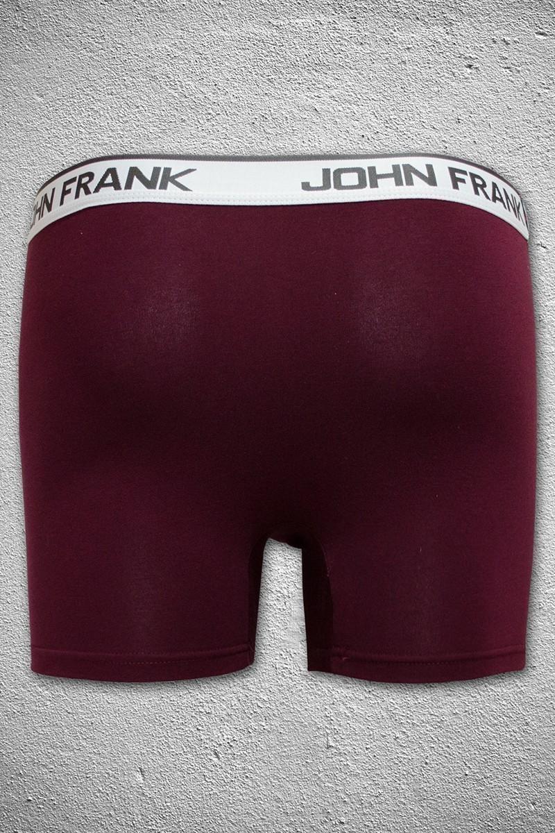 John Frank Bordo JFB40BORDO Erkek Boxer
