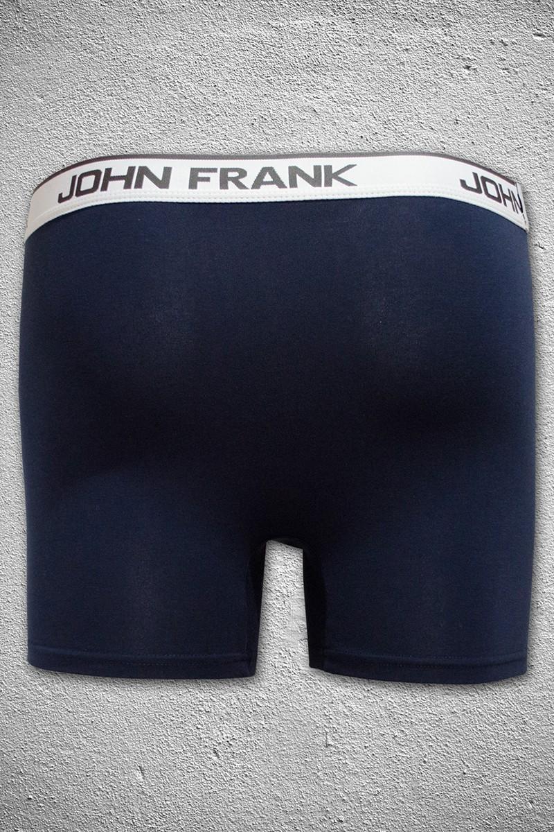 John Frank Lacivert JFB40LACIVERT Erkek Boxer