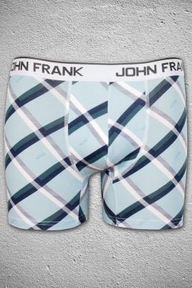 John Frank Mavi-Lacivert-Yeşil JFB54Y Erkek Boxer