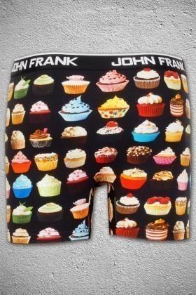 John Frank Lacivert JFB55 Erkek Boxer