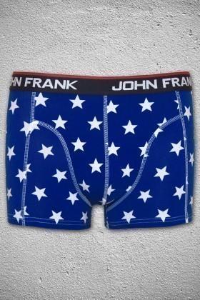 John Frank Mavi JFB7MAVI Erkek Boxer