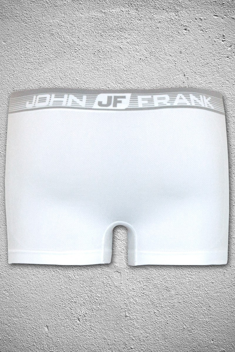 John Frank Beyaz JFBMAPC-10BEYAZ Erkek Boxer