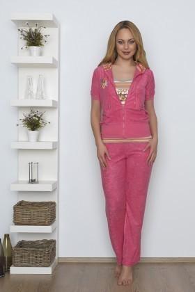 Baha Fuşya BH-2129-FUSYA Bayan Pijama Takımı