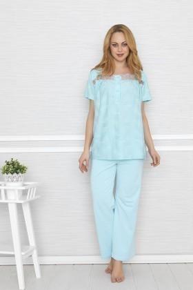 Baha Mavi BH-2317-MAVI Bayan Pijama Takımı