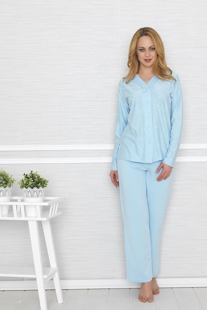 Baha Mavi BH-2412-MAVI Bayan Pijama Takımı