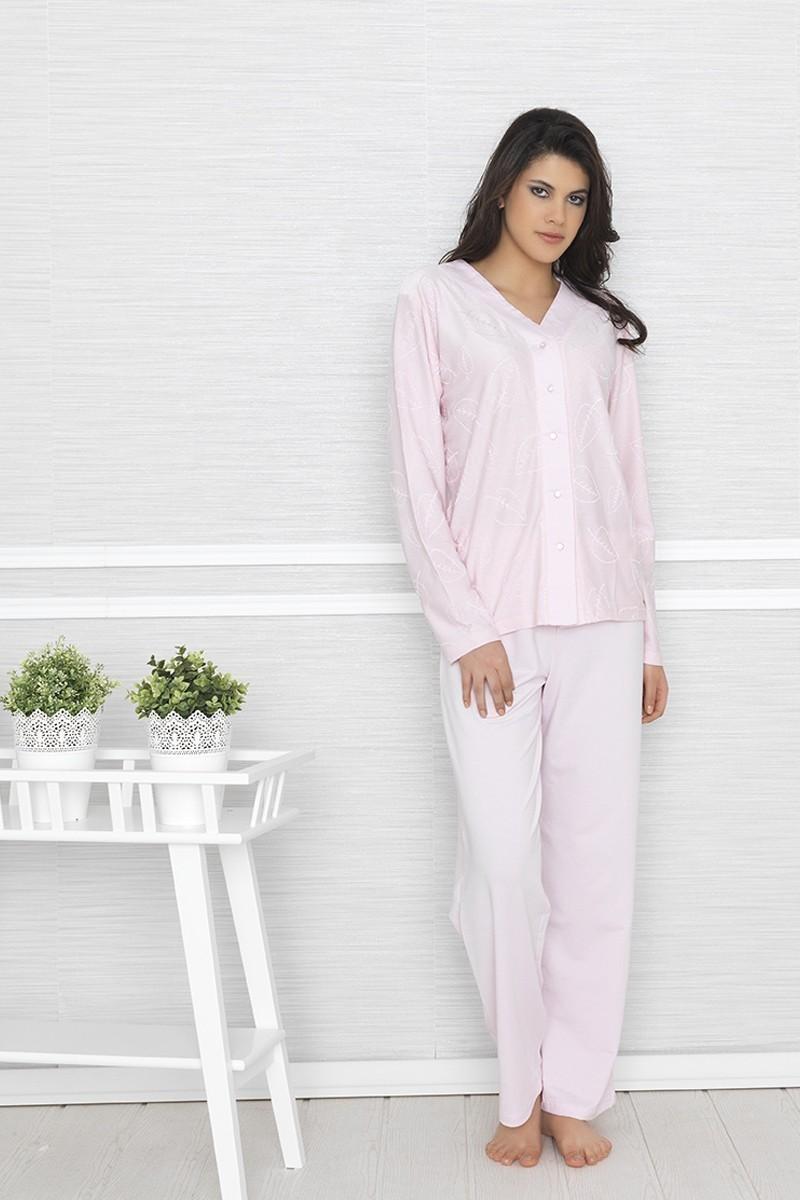 Baha Pembe BH-2412-PEMBE Bayan Pijama Takımı