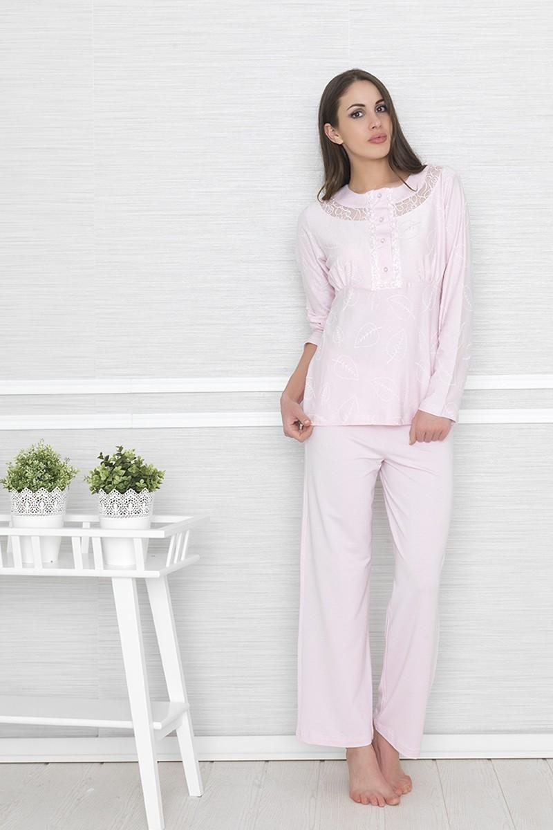 Baha Pembe BH-2414-PEMBE Bayan Pijama Takımı