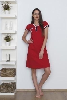 Baha Kırmızı BH-2509-KIRMIZI Bayan Pijama Takımı