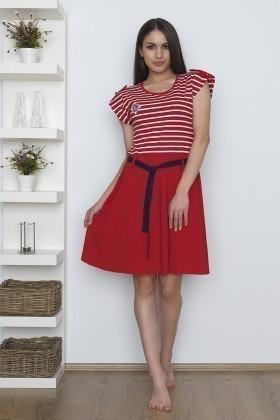 Baha Kırmızı BH-2515-KIRMIZI Bayan Pijama Takımı