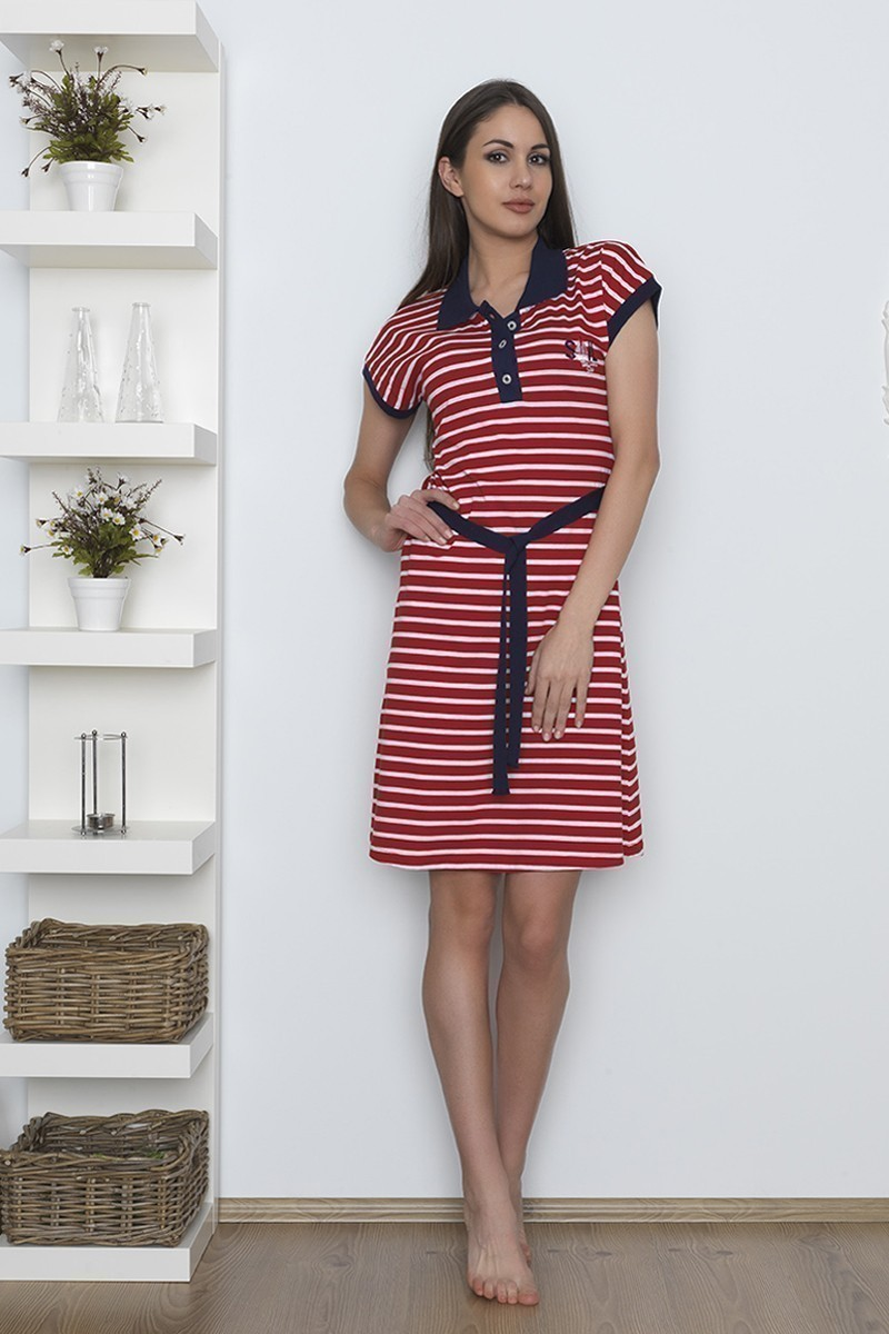 Baha Kırmızı BH-2517-KIRMIZI Bayan Pijama Takımı
