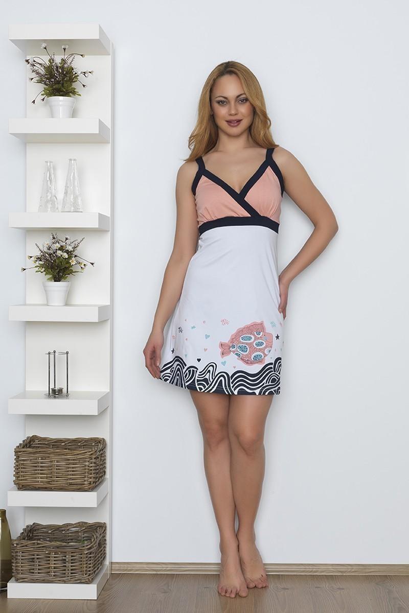 Baha Somon BH-2518-SOMON Bayan Pijama Takımı