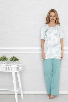 Baha Mint BH-2552-MINT Bayan Pijama Takımı