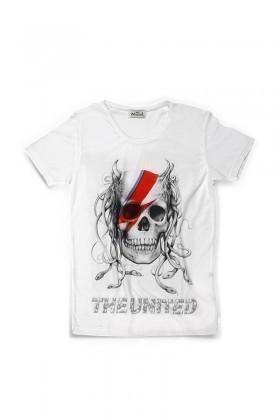 United Beyaz UE-003 Unisex Tişört