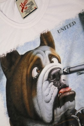 United Beyaz UE-009 Unisex Tişört