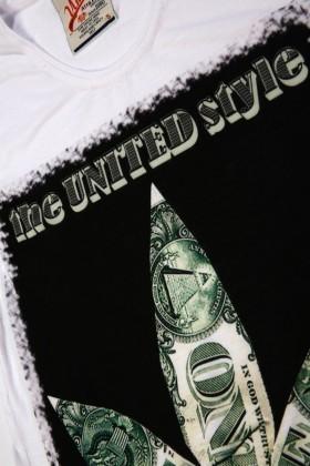 United Beyaz UE-Yaprak Unisex Tişört