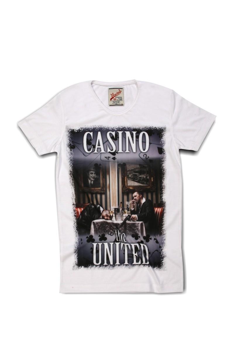 United Beyaz UE-027 Unisex Tişört