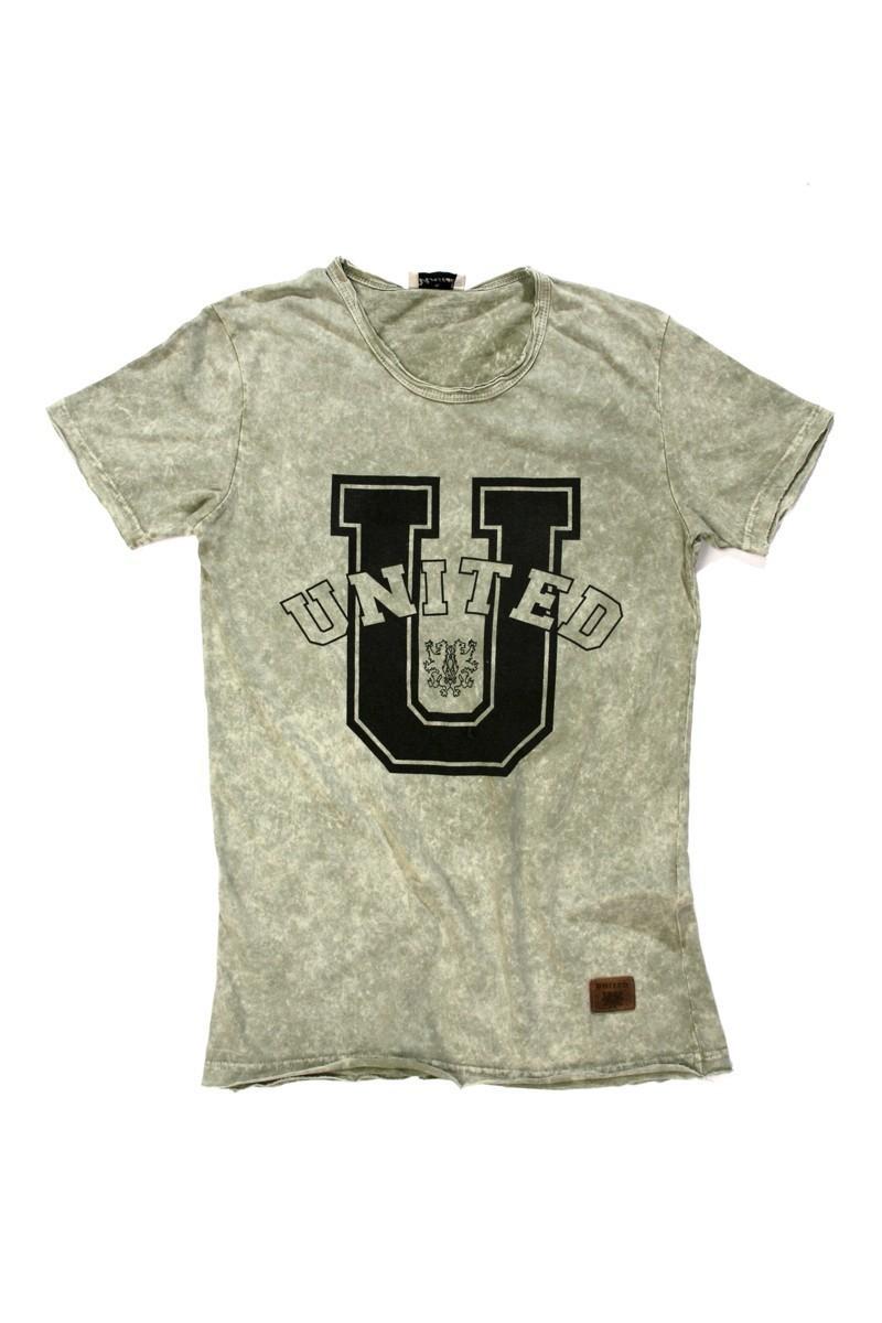 United Gri UE-030 Unisex Tişört