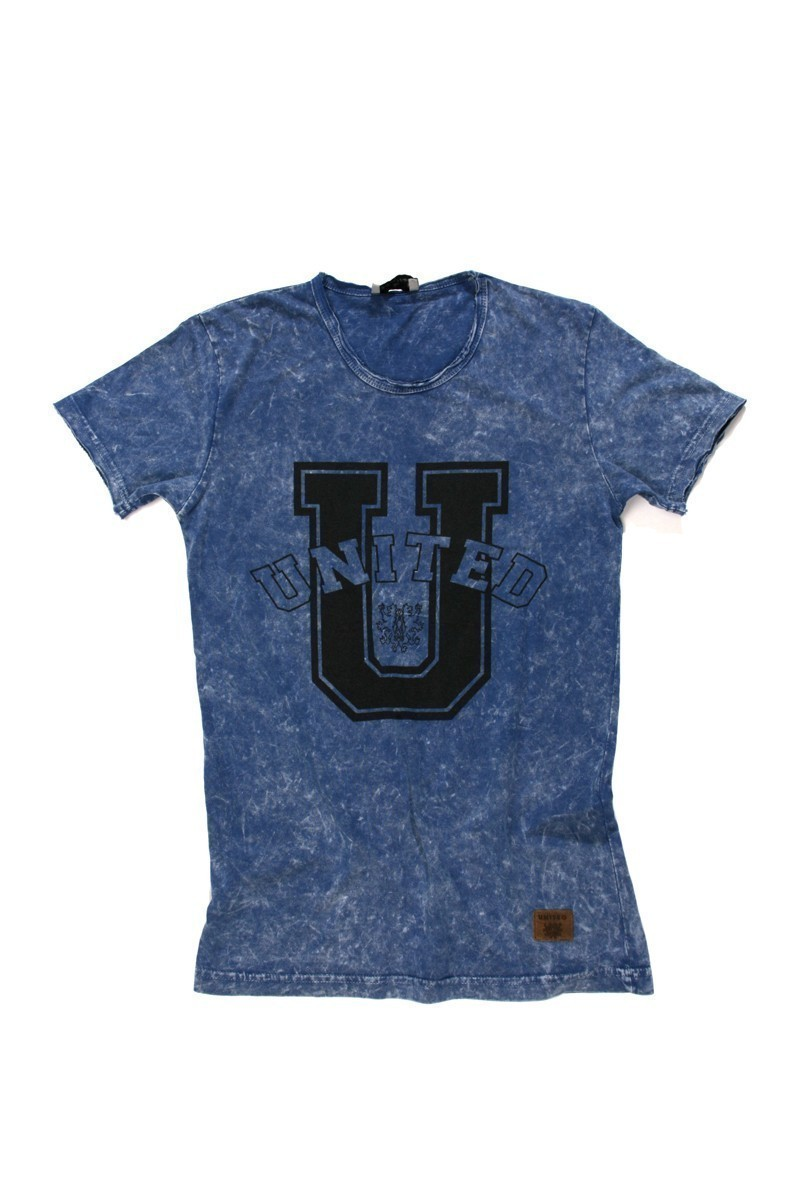 United Mavi UE-Mavi-U Unisex Tişört