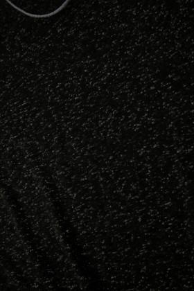 United Siyah UE-BENEKLI Unisex Tişört