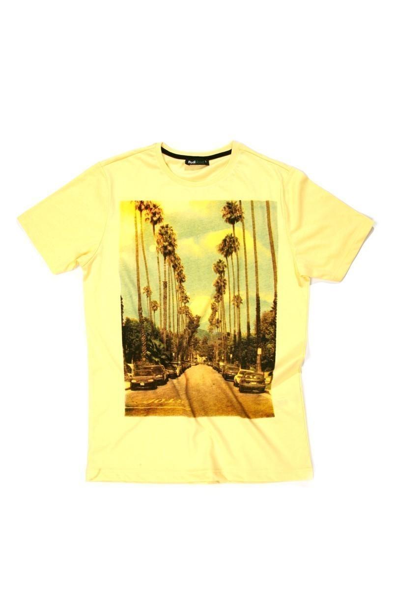 Rodi Sarı RDE-001 Erkek Tişört
