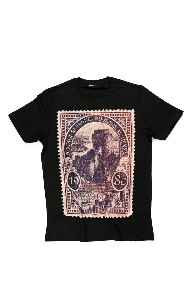 Rodi Siyah RDE-003 Erkek Tişört