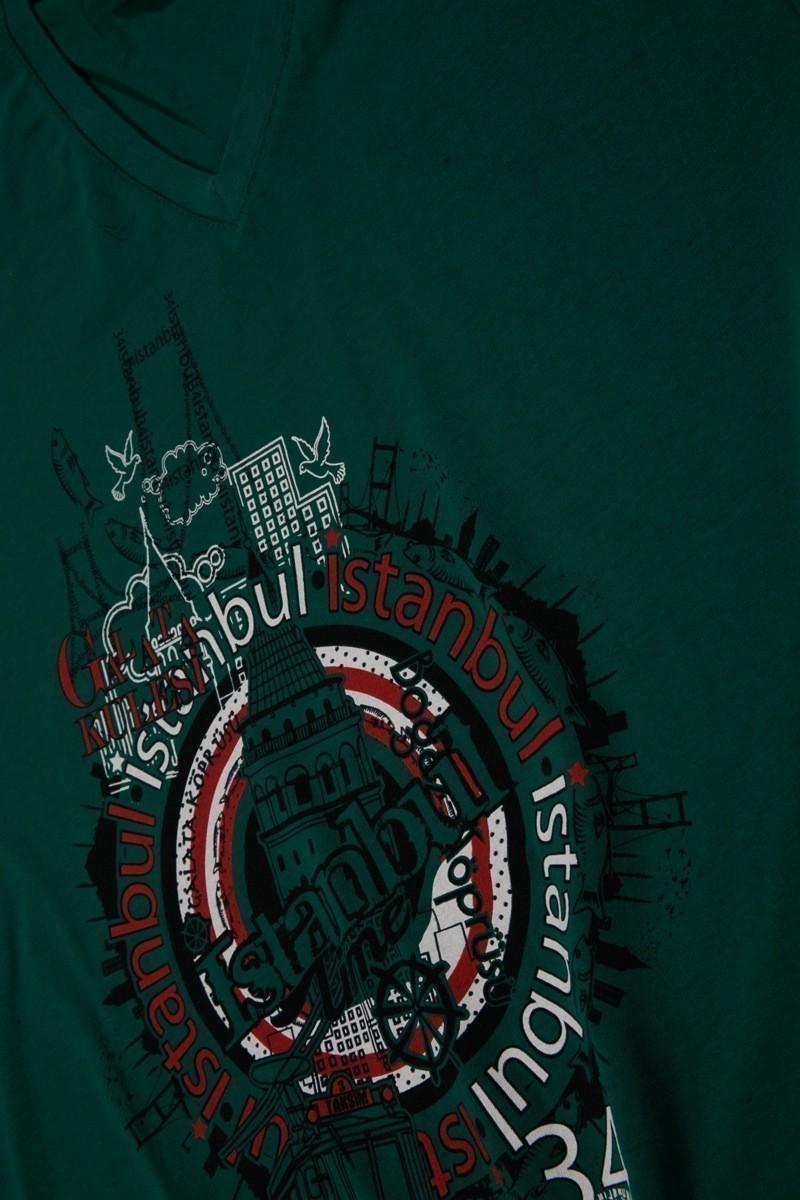 Rodi Yeşil RDE-009 Erkek Tişört