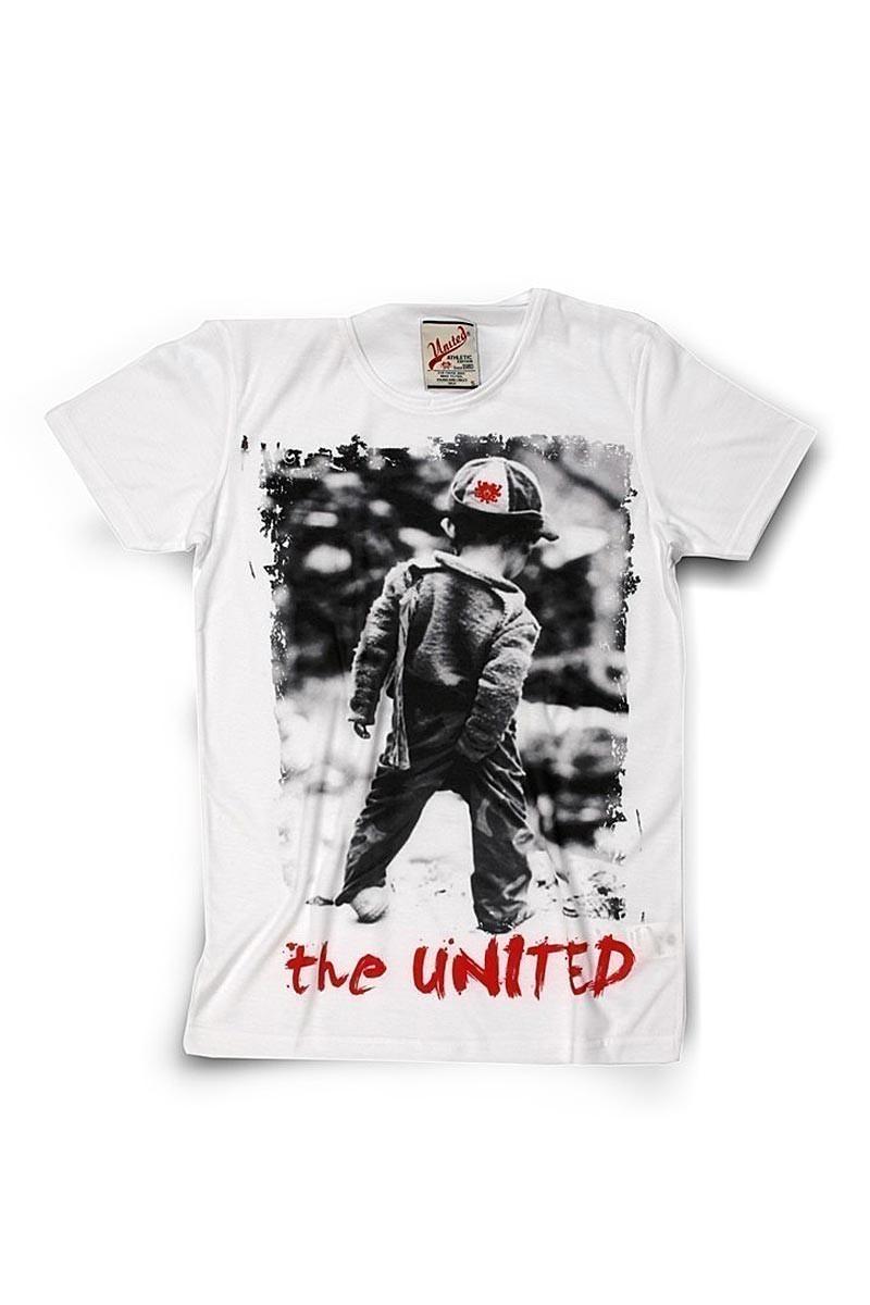 United Beyaz UE-Cocuk Unisex Tişört