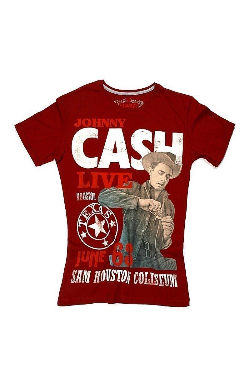 Nato Kırmızı NTE-Cash Erkek Tişört