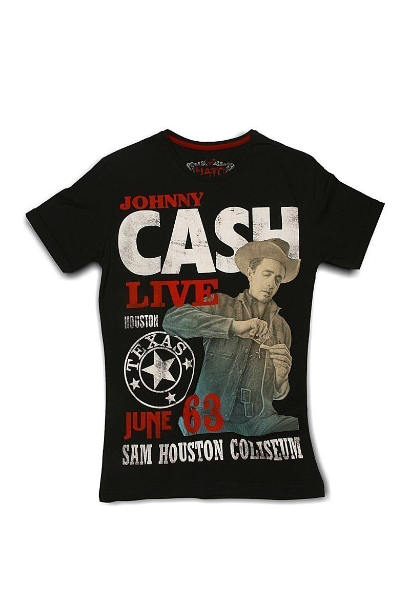 Nato Siyah NTE-Cash Erkek Tişört