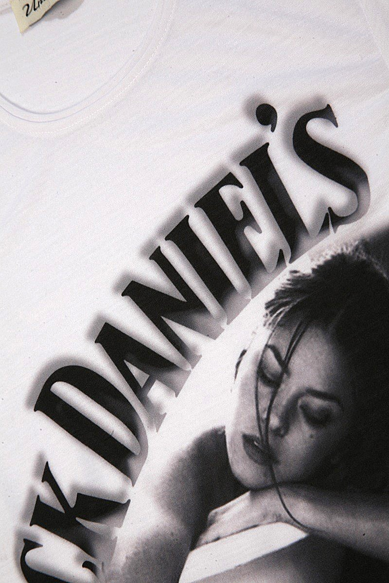 United Beyaz UE-JACK-DANIELS Unisex Tişört