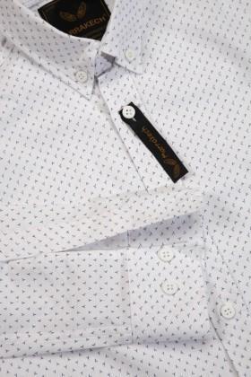 Marrakech Beyaz MR-001 Erkek Gömlek Slimfit
