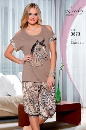 Lady Lingerie Vizon LL-3873 Bayan Pijama