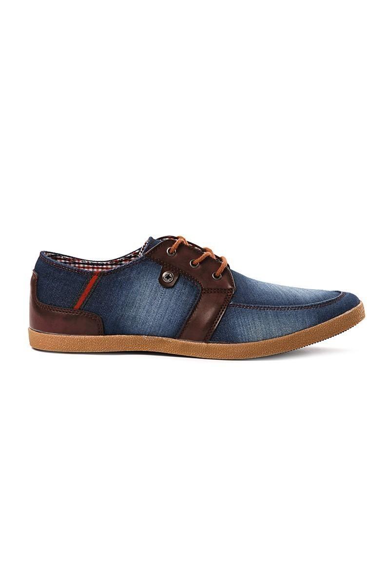 LA POLO Mavi-Kahverengi LPL-002 Erkek Ayakkabı