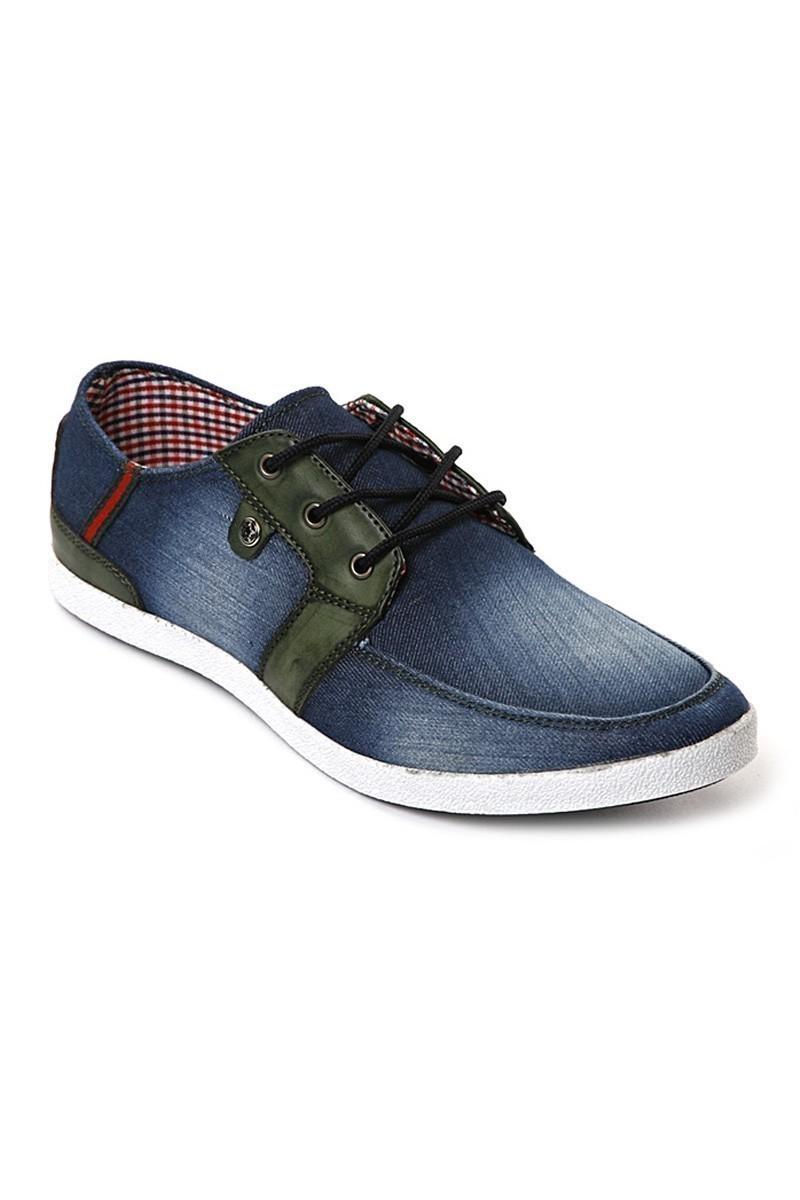 LA POLO Mavi-Yeşil LPL-004 Erkek Ayakkabı