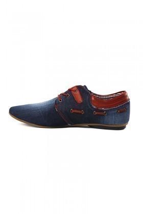 LA POLO Mavi-Kırmızı LPL-1795 Erkek Ayakkabı