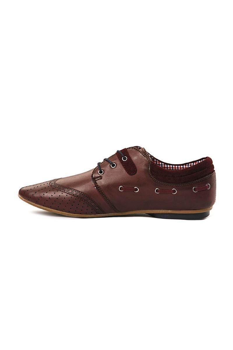 LA POLO Bordo LPL-1795 Erkek Ayakkabı