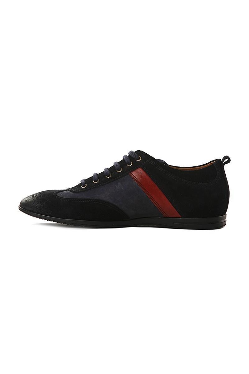 Pandew Lacivert PNDW-8101 Hakiki Deri Erkek Ayakkabı