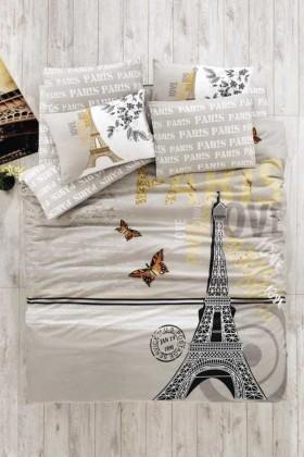 Evim Home Vizon DD-34515001 Tek Kişilik Nevresim Takımı Paris