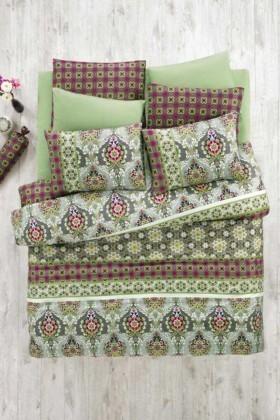 Evim Home Yeşil DD-34515015 Tek Kişilik Nevresim Takımı Virgo