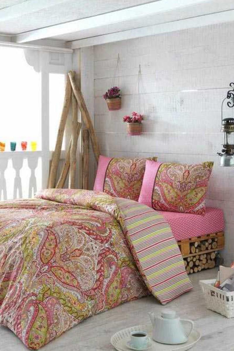 Evim Home Pembe DD-34515149 Complete Set Tek Kişilik Gemeos