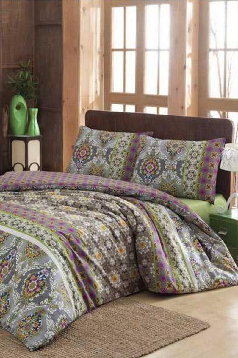 Evim Home Yeşil DD-34515162 Complete Set Tek Kişilik Virgo