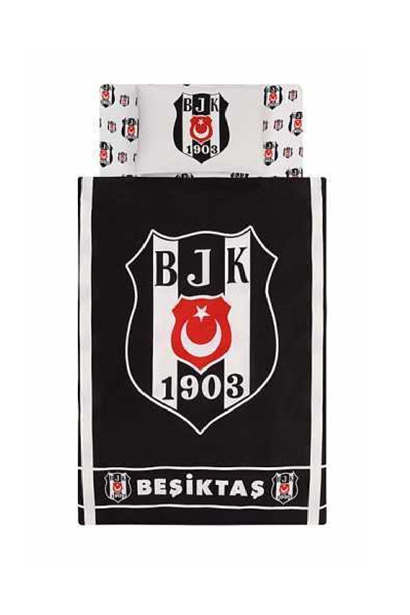 Taç Siyah-Beyaz DD-60050020 Nevresim Takımı Bjk 1903