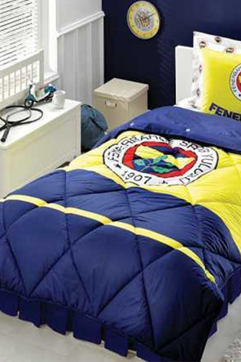 Taç Sarı-Lacivert DD-60053802 Uyku Seti Fenerbahçe Logo