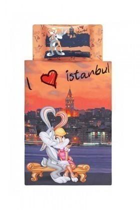 Taç Oranj DD-60057797 Nevresim Takımı Bugs Bunny And Lola