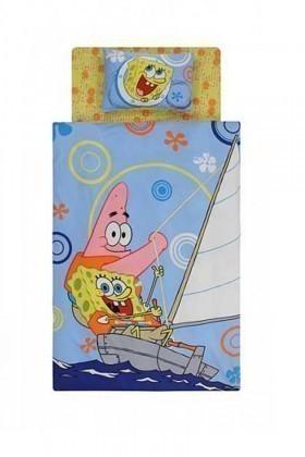 Taç Mavi DD-60058074 Nevresim Takımı Sponge Bob Boat