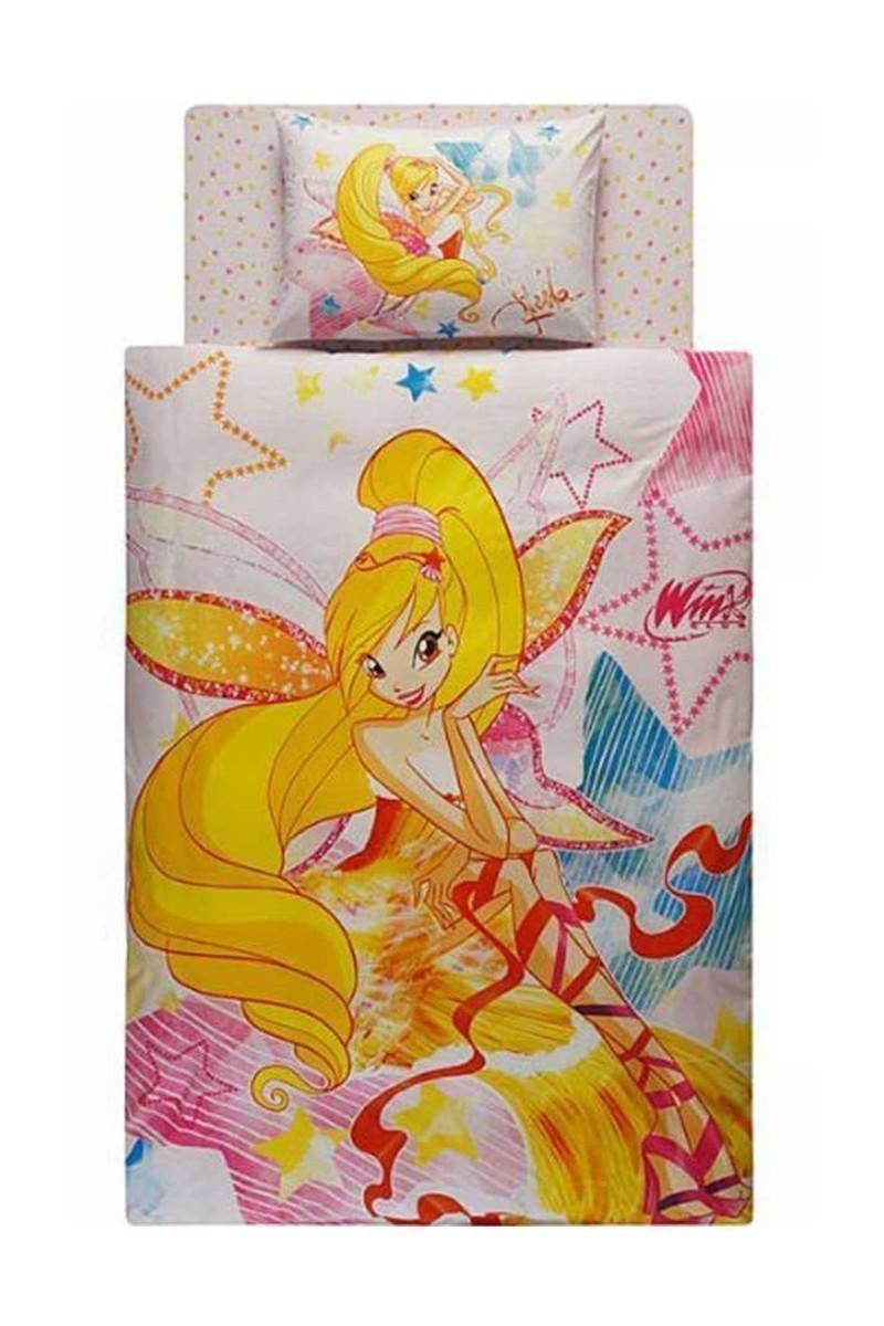 Taç Beyaz DD-60067458 Nevresim Takımı Winx Stella Harmonix