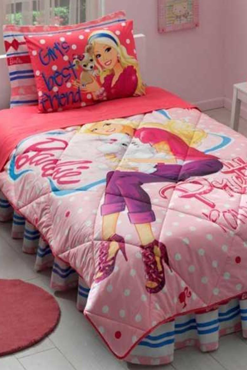 Taç Pembe DD-60088328 Uyku Seti Barbie Pretty