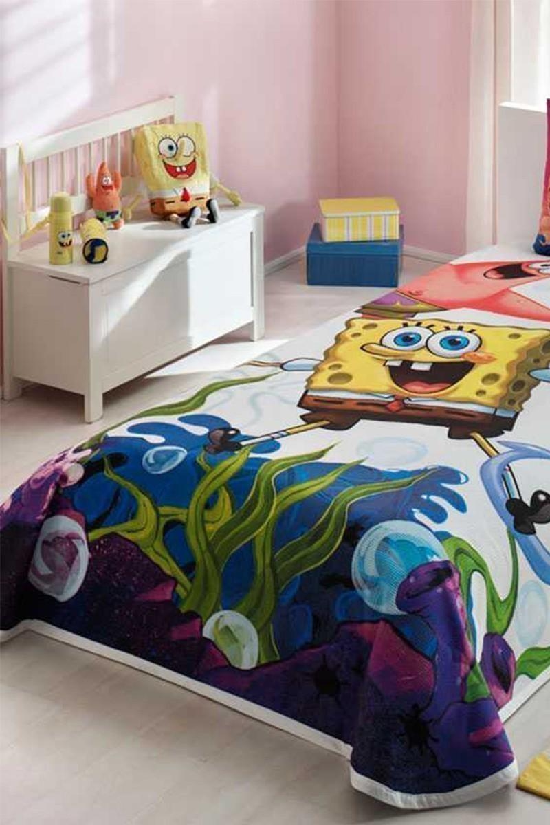 Taç Beyaz DD-60088334 Pike Takımı Sponge Bob Jellyfish
